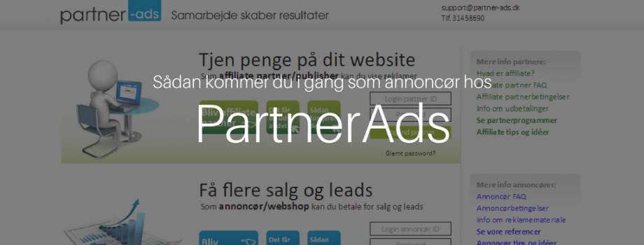 annoncør partnerads